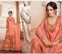 Semi Stitched Embroidery Lehengas