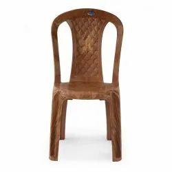 Nilkamal Red Armless Chair 4028