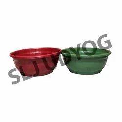 Round Plastic Tub