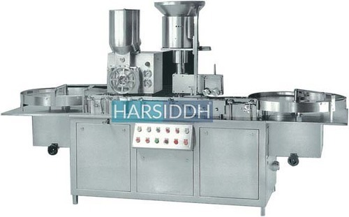 Stainless Steel Three Phase Aseptic Vial Powder Filling Machine