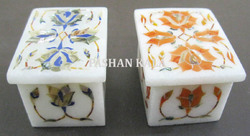 Inlay Work Marble Boxes