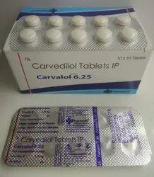 Carvedilol 6.25 Mg (Carvolol 6.25 )