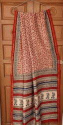 Trendy Printed chanderi Saree