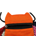 Orange Funky Pouch Bags