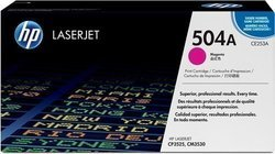 HP CE253A 504A Magenta Toner Cartridge