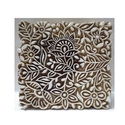 Wooden Textile Printing Blocks