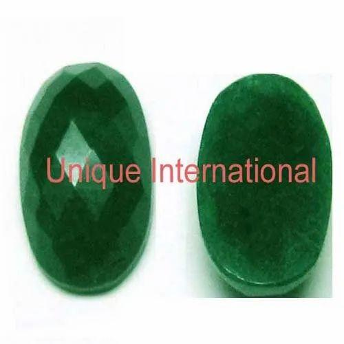 Unique International Emerald Corundum Oval Shape Normal
