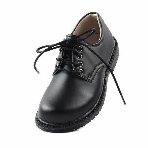 Kids Boys Black School Shoes, Packaging