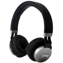 Pebble Black Bluetooth Headphones