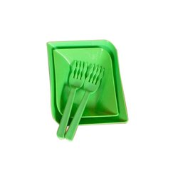 SS Plasto Green Noodle Serving Bowl Set