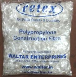 Polypropylene PP Fiber 6mm Length 600gm, Packaging type: Plastic Pouches/Soluble Pouches