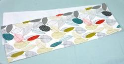 Table Runner with Leaf Print