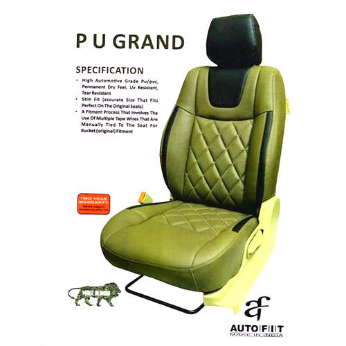 Autofit PU Leather Waterproof Car Seat Cover