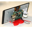 Lcd Rasperry Pi Touch Screen Monitor, Screen Size: 7""