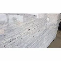 Polished River White Granite Stone, For Flooring, Thickness: 15-20 mm