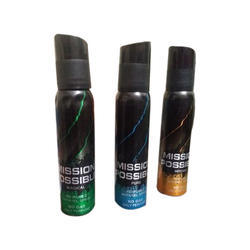 Mission Impossible Perfumed Apparel Body Spray, Pack Size: 150 Ml