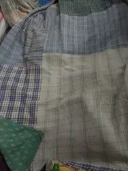 Checked Vintage Kantha Quilt