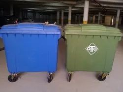 1100 Liters Wheeled Container