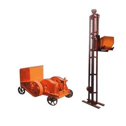 Electric Builder Hoist Rental Services, Capacity: <5 Tons