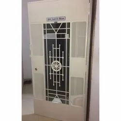 Metal Hinged Safety Doors, Size: 7 * 3 foot