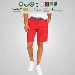 GRS Recycle Cotton Mens Chinos Shorts