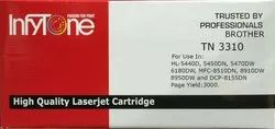 Brother TN 3310 (TN 3310) Compatible Black Toner Cartridge For Brother Printers