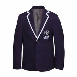 Full Sleeves Navy Blue School Blazer