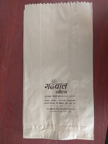 Brown Bakery Paper Pouch