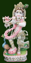 Krishna Marble Statue