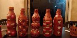 Clay Organic design Bottle.