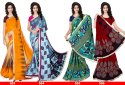 Ligalz Presents New Chiffon Saree with Blouse