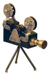 Silver Vintage Film Projector Replica Camera
