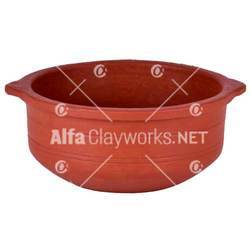 Terracotta Stock Pot with Grip