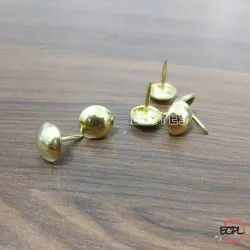 Brass & Stone Stone Rivets Nickel