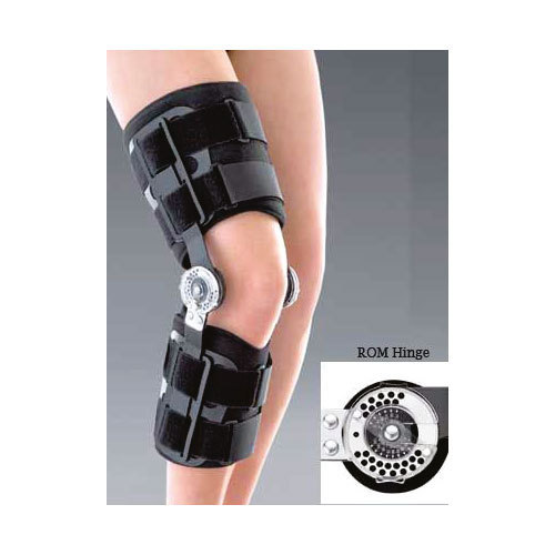 45f7b06b28 Rom Hinge Knee Brace at Rs 1750 /piece | घुटने के ...