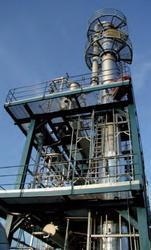 Industrial Fractionating Columns