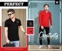 Pg Cotton Perfect Men's Collar T Shirt