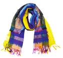 Double Embroidery Stoles