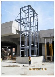 STEEL Prefab Fabricated Structure for Elevator