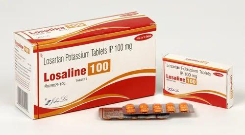 Losartan Potassium 100 Mg Tablets