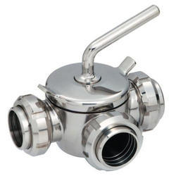 Three Way Plug Valve Without Union