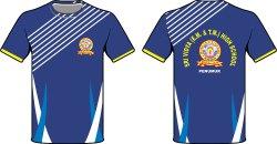 Kids Round Neck T Shirt School Uniform
