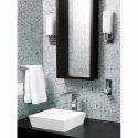 Matt Brown Modern Bathroom Tiles, 25 Pcs