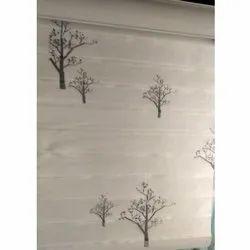 Cloth Horizontal Blinds Designer Blinds, For Window