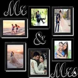 Wooden Collage Photo Frame, For Gift, Size: Small