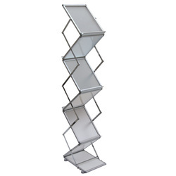 Acrylic White Catalog Stand, For Display, Size: A4