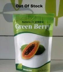 A Grade Green Berry Papaya Seeds, Packaging Type: Pouch, Packaging Size: 10 Gram