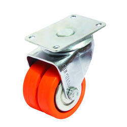 Double Fixed Puff Wheel Caster
