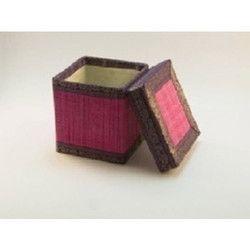 Bamboo Round Mat Box