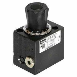 Carbon Steel Parker Flow Control Valve, Valve Size: Ng06 Nom